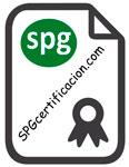 Certificación Pavinol