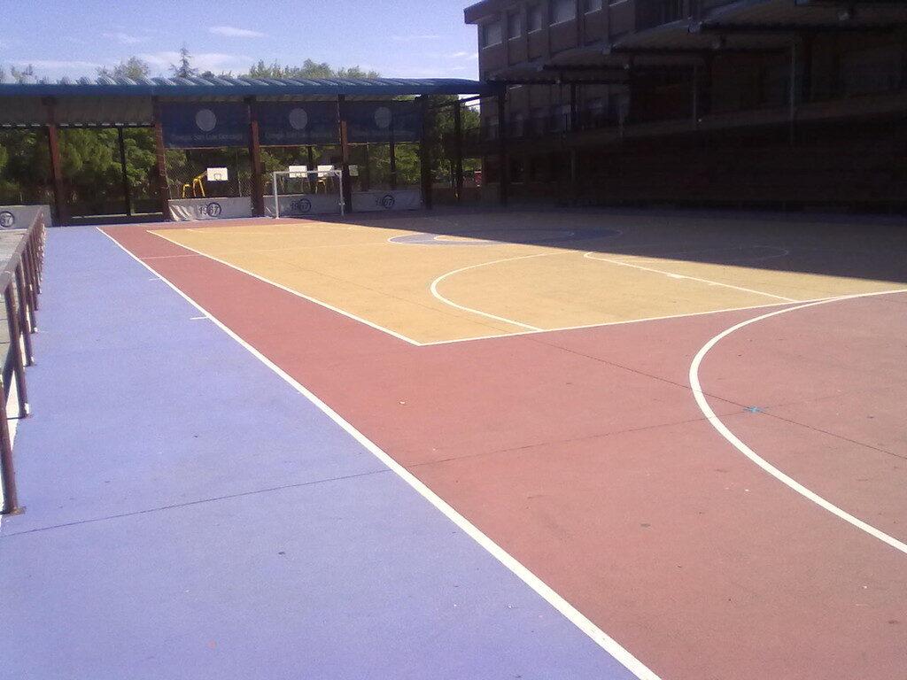 Pavimentos para deportes de exteriores
