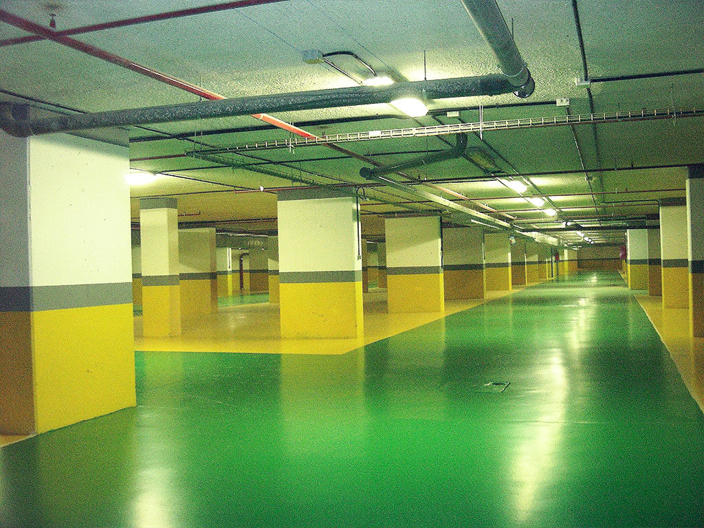 Pavimento para rampa de garaje