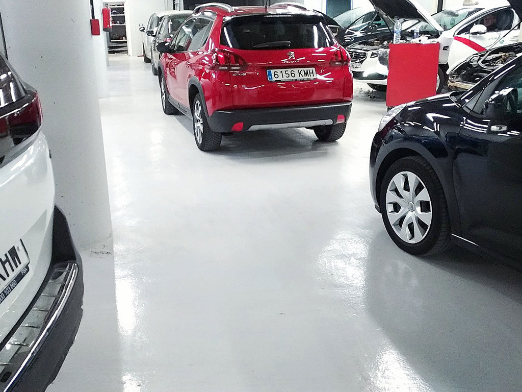 Pavimentos para parkings y garajes
