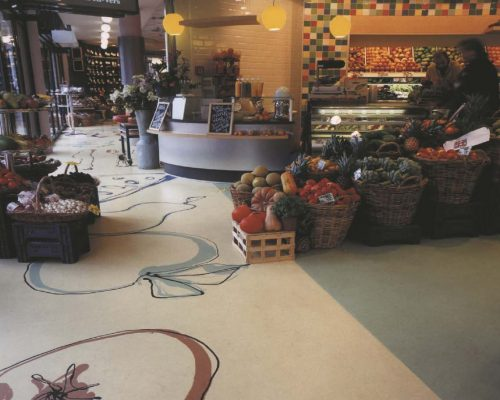 Pavimentos decorativos de poliuretano