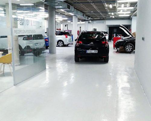Pavimentos para talleres